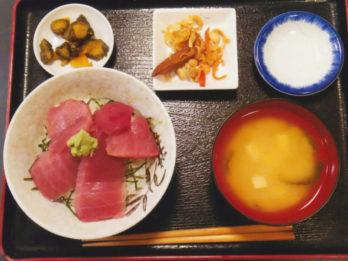 「鉄火丼定食」 ランチもやってます!